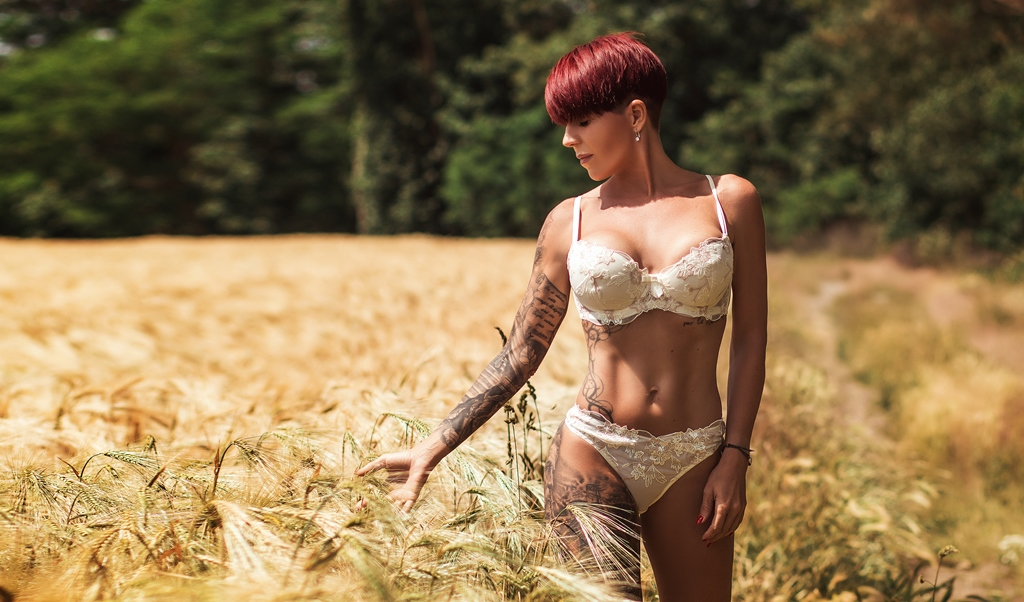Tanja - Inked German Beauty